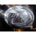 CHROME FUEL CAP OIL TANK COVER TRIM FOR All New Mazda BT-50 Pro YEAR 2012 V.1
