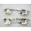 CHROME 4DOOR HANDLE BOWL INSERT COVER FOR ALL NEW TOYOTA CAMRY2012