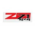 Sticker Z71 4X4  1 set 2 pcs
