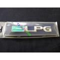LOGO ' LPG ' โลโก้ติดท้ายรถ