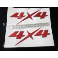 LOGO โลโก้ Sticker 4x4 d - max ดีแม็ค ส่งฟรี ems