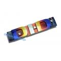logo DI-D DID ทำจากโลโก้แท้โลโก้ ดีไอดี สี titanium  Anodize   สีอลูมิเนียมสีไทเทเนียม อโนไดซ์