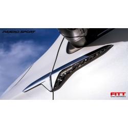 side vent แก้ม Mitsubishi Pajero 2015 ปาเจโร่ 2015 Fitt ส่งฟรี ems