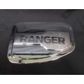 CHROME FUEL CAP OIL TANK COVER TRIM FOR ALL NEW FORD RANGER 2012 V.2
