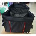 กล่องใส่สัมภาระ ฯลฯ ของแท้ เบิกห้าง ใส่ได้กับทุกรุ่นทุกยี่ห้อ TOYOTA  สีดำ V.1