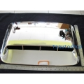 Chrome Mirror Cover with LED for Nissan Frontier Navara 4x2