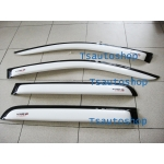 weather guards visor for toyota Hilux vigo champ 2011